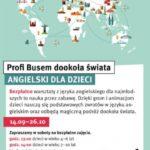 Profi Busem dookoła świata. Darmowe lekcje języka angielskiego