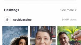 TikTok walczy z problemem dezinformacji na temat szczepionki przeciw COVID-19