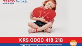 Kampania 1% Fundacji Tesco na zakup sprzętu dla dzieci z zespołem pocovidowym