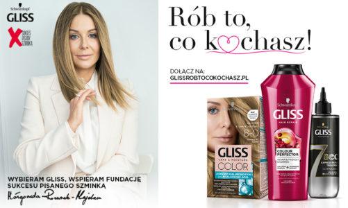 Rób to, co kochasz! Hebe i marka produktów do włosów Gliss z Fundajcą Sukces Pisany Szminką dla wyjątkowych kobiet